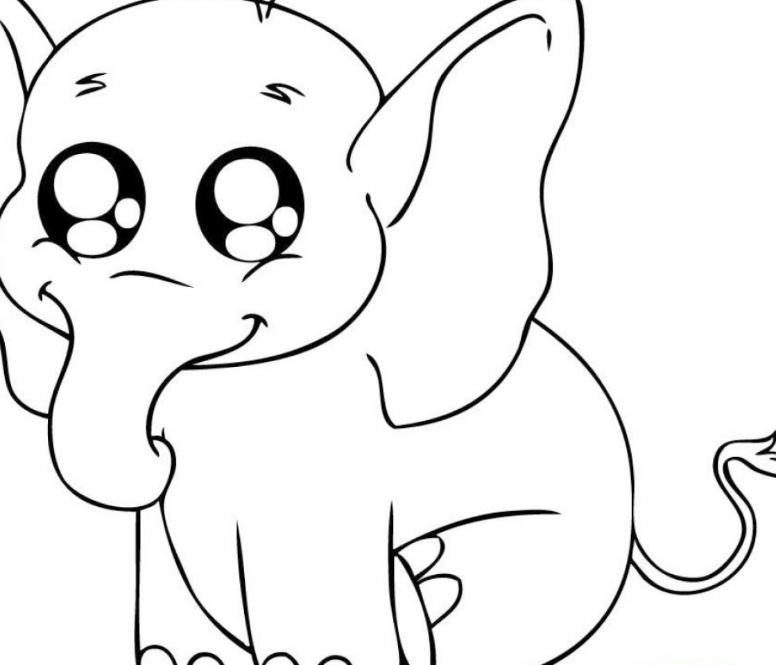 Cute baby animals colouring pictures 2