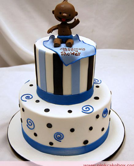 Cute baby boy shower cakes pictures 1