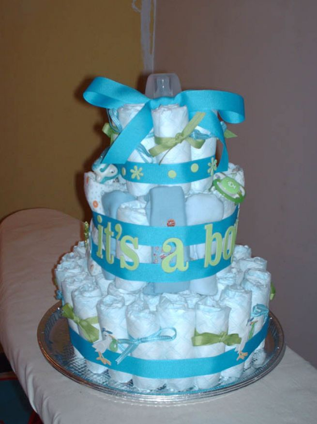 Cute Baby Cake Images : Baby Shower Cakes: Cute Baby Shower Cakes For A Boy
