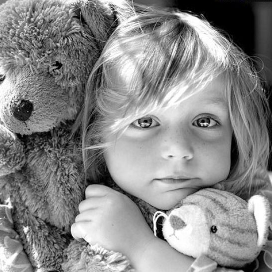 Cute black and white pictures of kids pictures 3