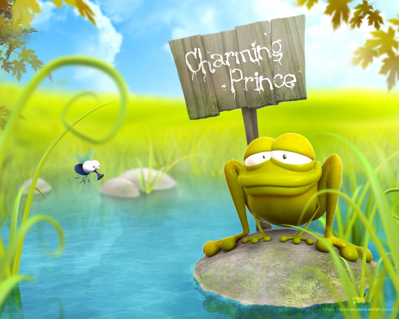 Cute cartoon animals wallpapers pictures 3