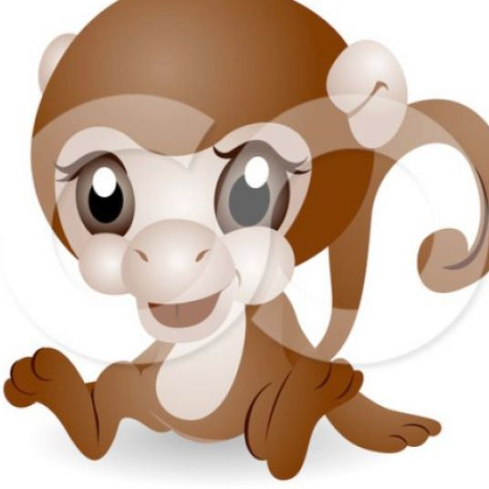 Monkey Cartoon Cute