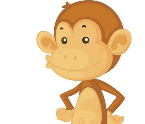 monkey wallpaper. CUTE CARTOON MONKEY WALLPAPER