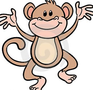 Cute cartoon monkey pictures 2