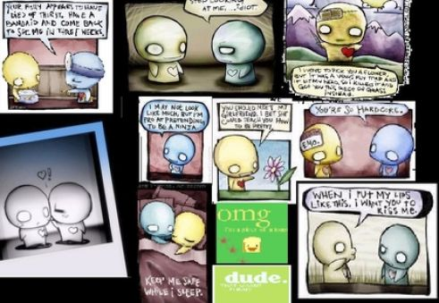 Cute Picture Love on Cute Cartoon Pictures Of Love 3 Jpg