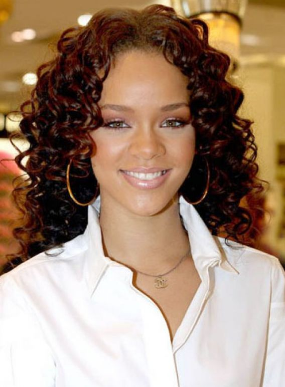Cute curly hairstyles for black women pictures 4