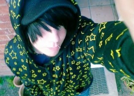 cute emo guys with black hair 3