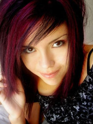 Cute emo hairstyles for teenage girls pictures 4