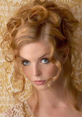 Cute hairstyles for long thick curly hair pictures 4