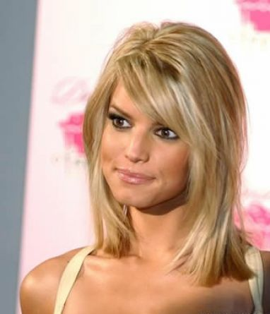 Haircuts  Thin Hair on Cute Hairstyles For Medium Length Thin Hair 1 Jpg