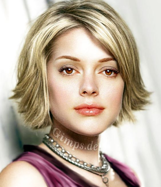 The Enchanting Short Hairstyles With Bangs For Thin Hair Picture
