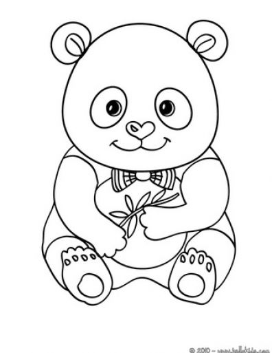 panda bear pictures coloring pages - photo#17