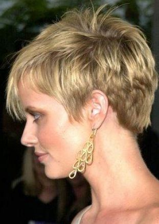 Cute short blonde haircuts 2010 pictures 2