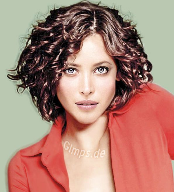 cute short curly hairstyles. Cute short curly hairstyle