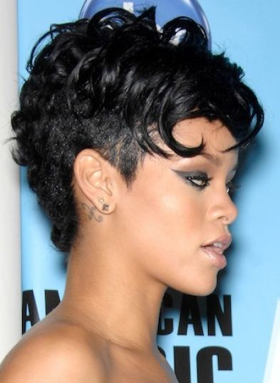 Cute short haircuts for black girls pictures 1