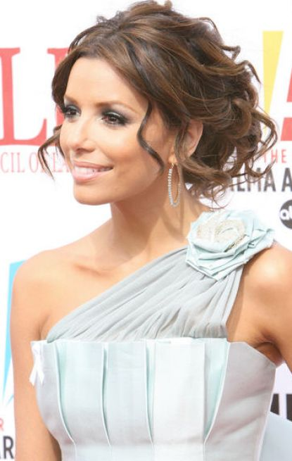 Incredible Eva Longoria Updo Wedding Hair 415 x 655 · 36 kB · jpeg