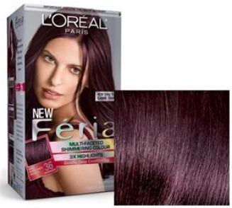 Dark brown hair color with purple pictures 3
