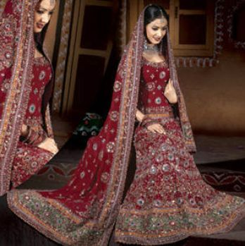 designer indian bridal lenghas 1