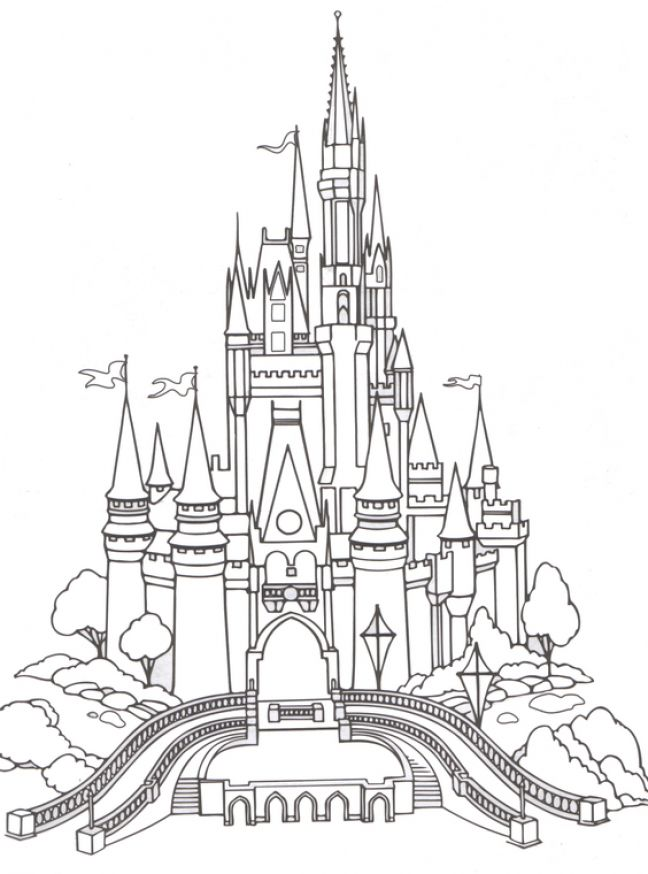 Disney Princess Castle Cartoon Pictures 4