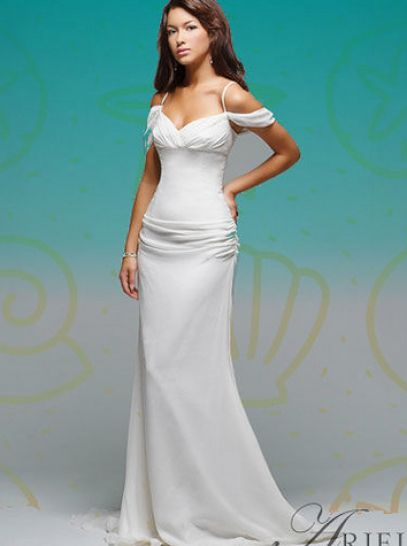 Disney Princess Wedding Dresses Ariel
