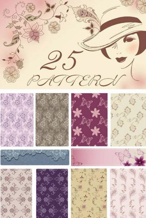 art designs and patterns. Download free vector designs,