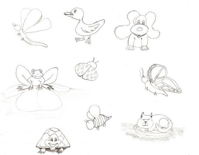 Pictures Of Easy Stuff To Draw | Search Results | Calendar ...