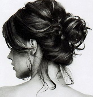 Easy cute updos for shoulder length hair pictures 1