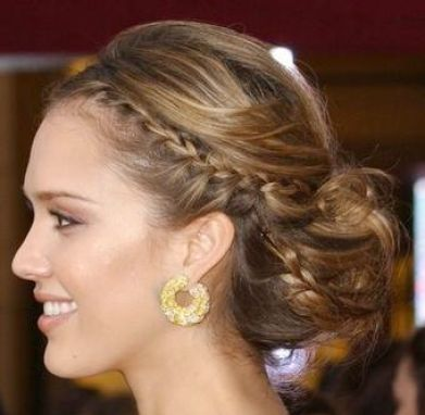 Easy formal hairstyles for long hair pictures 1