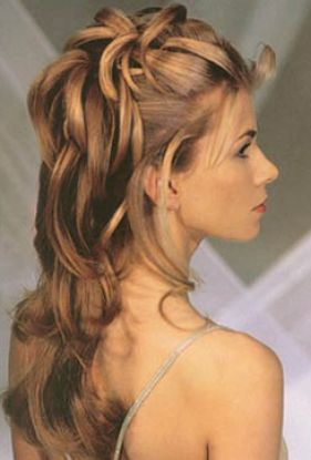 Easy hairstyles for very long hair pictures 1