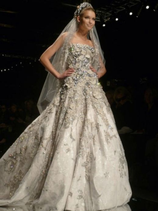 elie saab wedding dresses 2010. Wedding dresses 2009 2010