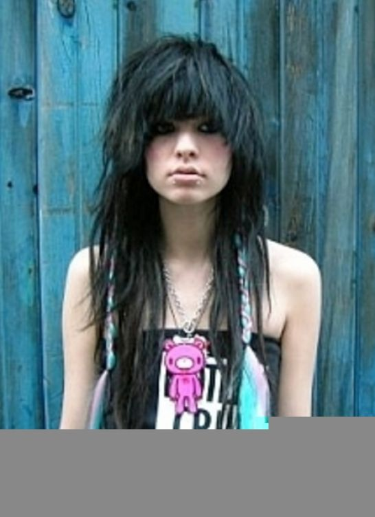 Emo hairstyles for girls with long hair and bangs pictures 3