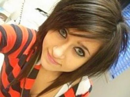 Emo hairstyles for girls with medium hair and bangs pictures 2