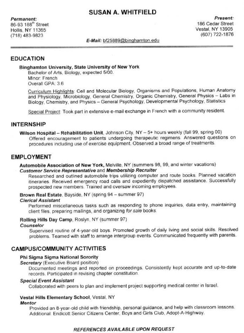 example of a good resume pictures 2