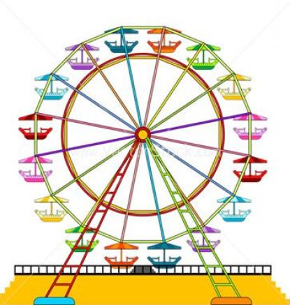 Ferris wheel vector free pictures 3