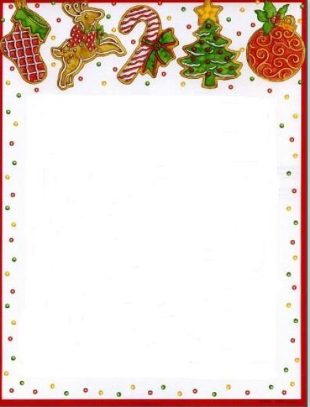 Christmas letter borders free http www pic2fly com christmas letter
