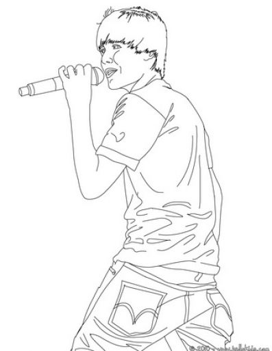 Pin justin bieber coloring pages online on pinterest for Free justin bieber coloring pages