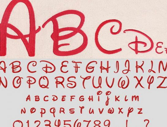 Free disney fonts pictures 4