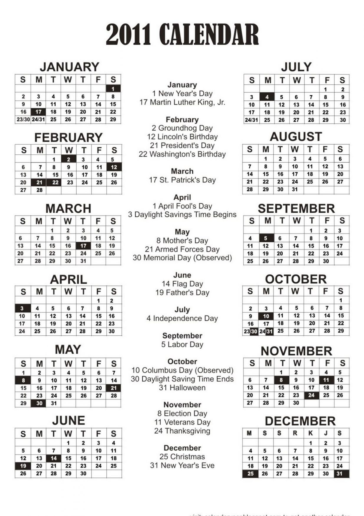 Year Calendar One Page Printable : Free printable year calendar pictures