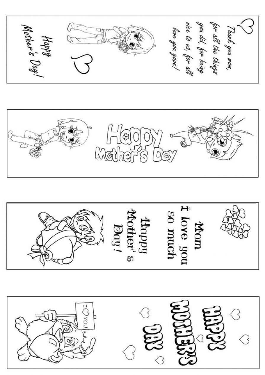 Printable Coloring Bookmarks Free : Free printable coloring bookmarks pictures