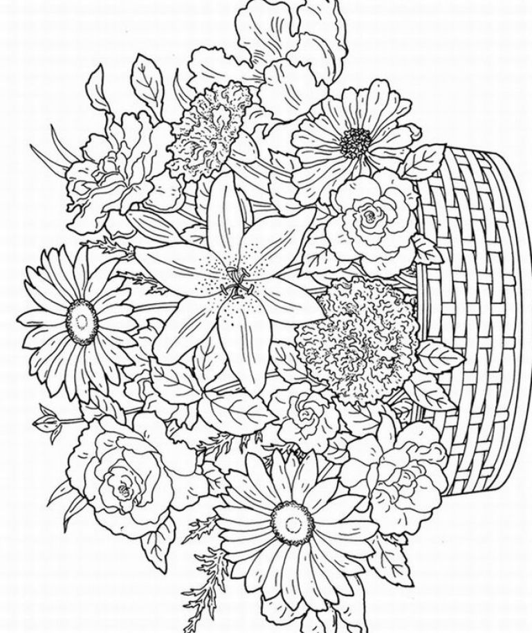 Free Coloring Pages Of Color By Number Adult Free Printable Coloring Book Pages For Adults