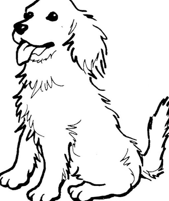 Puppy Cute: Puppy Coloring Pages