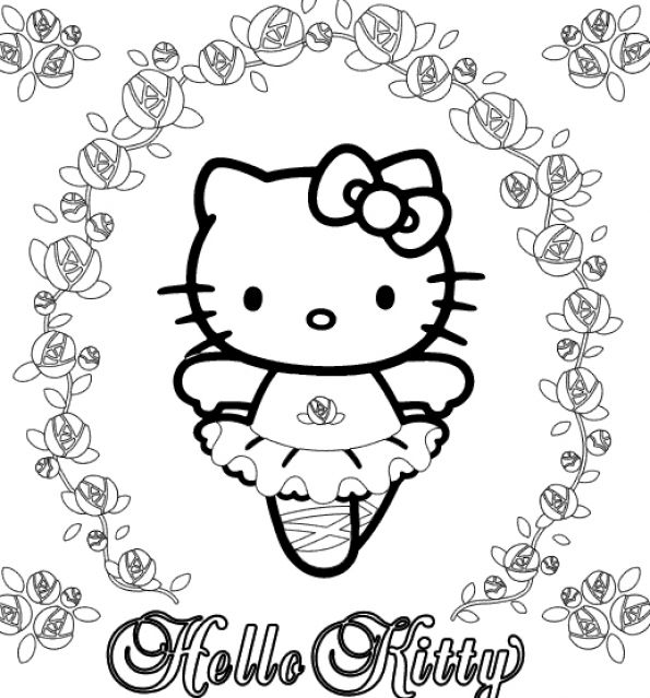 Hello Kitty And Friends Coloring Pages. Hello Kitty Coloring Pages
