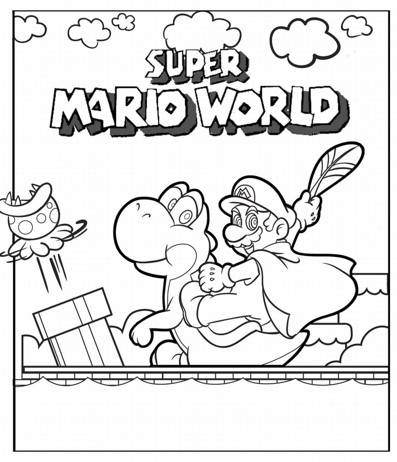 Mario Brothers Printable Coulouring Pages Dave Harbour New Mario Characters Coloring Pages