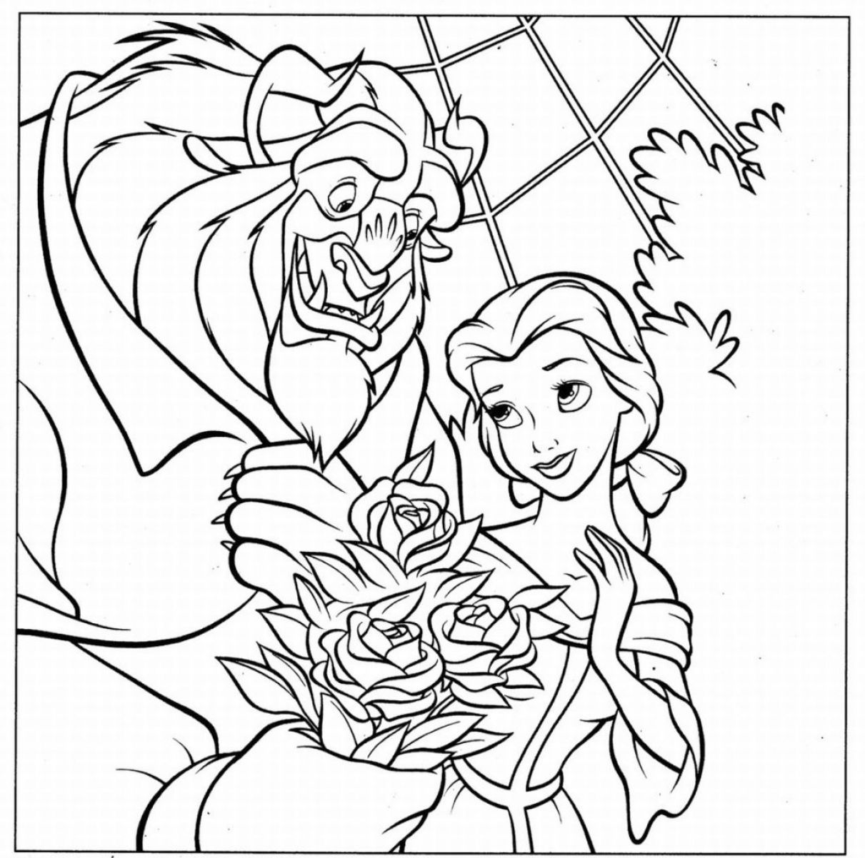 Free Coloring Pages Of Palace Pets Jasmines Pony