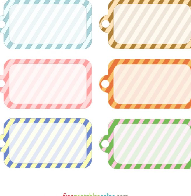 Free Printable Gift Tags Personalized | apexwallpapers.com