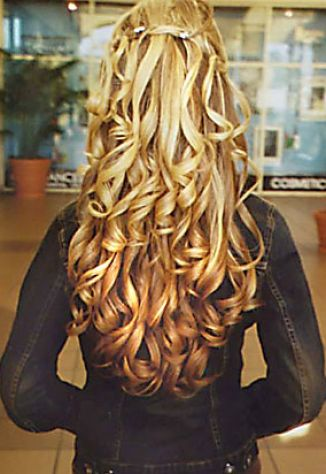 Bridal Hairstyles  Curly on Half Up Half Down Curly Wedding Hairstyles 3 Jpg