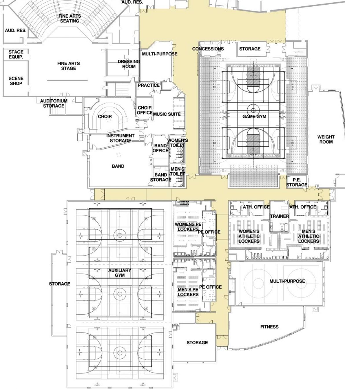 High School Building Plans Pictures 1