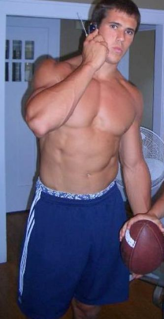 high school football players shirtless 2
