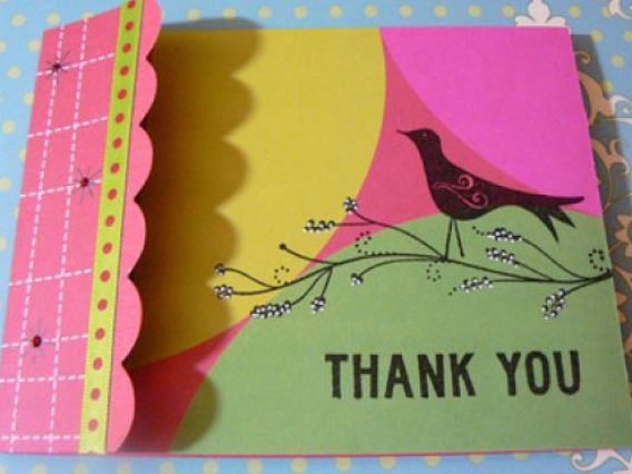 Ideas For Cards. Handmade thank you card ideas