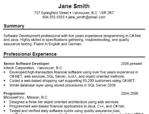 how to do a resume for a job example pictures 2